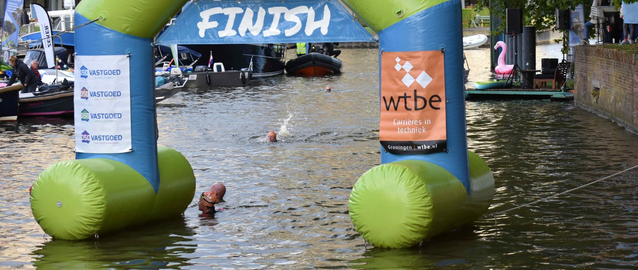 Swim Challenge Finish
